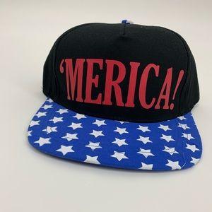 Stars Merica patriotic cap America 4th of July